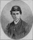 Russell as a midshipman, age 17